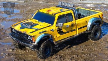 RC 冒险 – BUMBLEBEE-ST ROLLS OUT & GETS DiRTY for the FiRST TiME! #ToyRealism