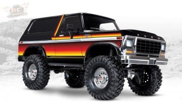 "AVENTURAS RC – UNBOXiNG a NEW 1979 ""SUNSET"" TRAXXAS TRX-4 BRONCO – 1/10th Scale Trail Crawler"