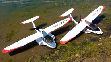 DUAL ICON A5 SEA PLANES w/ SPEED BOATS! WATER WORKS – GROUP RC PLAYDAY – Pt 2   AVENTURAS RC