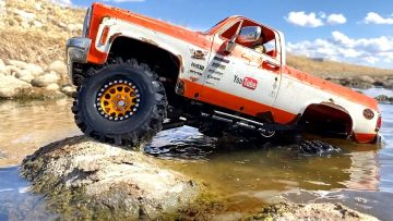 YOUR FAVOURiTE CLASSiC SQUARE CHEVY 4×4 HARD TOP K5 BLAZER WHEELiN' – B4 THE FLOOD | AVENTURAS RC