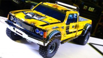 RC ADVENTURES – Projekt: BUMBLEBEE-ST PT 6 – 4×4 DUALLY Model Pick Up Truck (Tribute to Bumblebee)