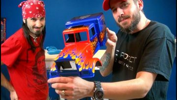 RC ADVENTURES – OPTiMUS OVERKiLL – Transformers 30 Year Anniversary Tribute – Bloodshot Airbrushing