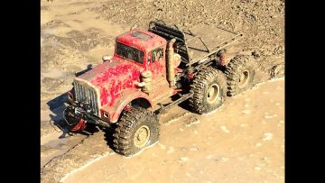 RC ADVENTURES – 6×6 MUD TRUCK in Chocolate Milk Mud