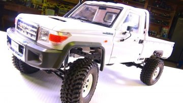 AVENTURAS RC – LC70 Land Cruiser 4×4 Camión – Installing a Body Mount Kit from RC4WD