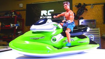 1/6 Scale Brushless RC Jet Ski / Sea Doo / Wave Runner – Custom Build –  Up to 4s LiPo! Unboxing