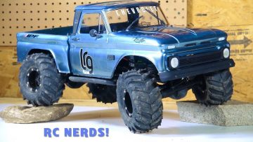 """RC ADVENTURES – """"BLAUER STAHL"""" CHEVY 1966 C10 AXiAL SCX10 BEAST PiCKUP """"Re-iNCARNATE"""" RC NERDS COLLAB!"""