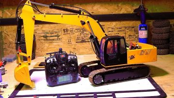 AVENTURAS RC – 1/12th Scale 4200xl Excavator – Hydraulic Pump ESC Upgrade – Radio Controlado