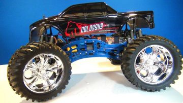 RC ADVENTURES – CEN Racing GST-E COLOSSUS MONSTER TRUCK 4×4 (RTR)