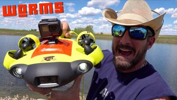 DiSCOVERiNG a DEEP WATER BiOMASS WORM NiGHTMARE – MEAT SPAGHETTi!? FiFiSH V6 ROV SUB | RC EVENTYR