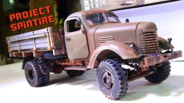 "AVENTURES RC – Projet: ""SPiNTiRE (en)"" – FiNAL PRODUCT: RUST & AGiNG ""Comment"" PT2 – 2WD CA10 WORK TRUCK"
