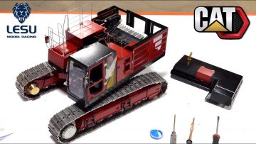 """Projekt: Johnson"" Aka ""THE BiG ONE"" – LESU CAT 374FL EXCAVATOR KiT BUILD – Dio 3 