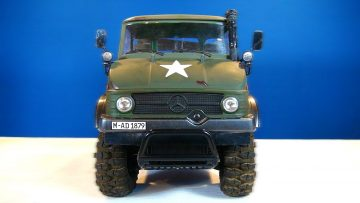 RC ADVENTURES – MERCEDES-BENZ Military UNiMOG 406 Series – U900 – (CC01 Chassis) Unboxing