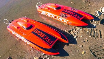 RC 冒险 – 4s/6s Lipo Impulse 31 Deep-V & Dual Blackjack 29 Catamarans – Radio Control BOATiNG!