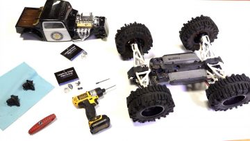 TRAXXAS SUMMIT – ONLY Differential & Transmission UPGRADE I KNOW OF! LEM MACHINING | AVENTURAS RC