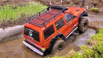 RC CARS OFF-ROAD COLLECTION 4×4 JEEP LANDROVER HUMMER IN ACTION