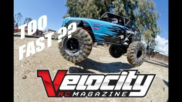 Redcat Racing Wendigo RTR Review – Should a rock crawler go fast? Velocity RC Cars Magazine