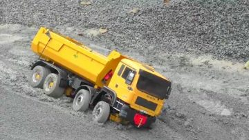 IMPRESSIONNANT RC TRUCK MAN 8×8! RC M.A.N 8×8 OR THE BIG OLD KIROVETS K-700 6×6