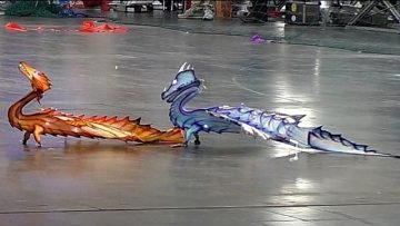 AMAZING RC FLYING DRAGONS INDOOR IN THE HALL / Intermodellbau Dortmund 2016