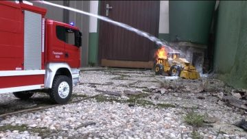 FIRE TRUCK l  RC LOADER  FIRE l RC FIRE FIGHTER l RC ACTION