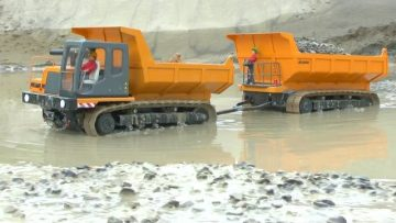 HEAY MACHINES🔥RC COCSTRUCTION SITE XXL🔥RC MACHINES IN THE MUD🔥 RC LIVE ACTION