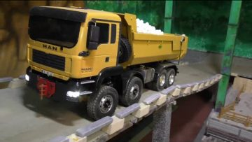 RC CONSTRUCTION SITE, RC TIPPER 8X8