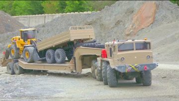 MAZ 537 AND T 247 WORK VERY EXTREME! VOLVO L250 SECIAL! REAL CONSTRUCTION SITE