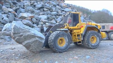 HEAVY WORK AT THE STONE MINE! STRONG RC SCANIA 6X6! GLIBE LINER  6X6! REAL RC ACTION