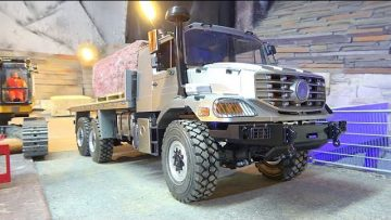 NEW MERCEDES BENZ OVERLAND ZETROS TRUCK! MERCEDES POWER TRUCK! RC SPECIAL TRUCK FRO HEAVY LOAD