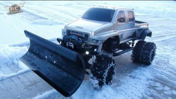 RC 冒险 – OVERKiLL SNOW PLOW!