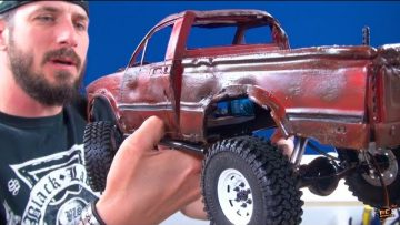 "RC AVONTUREN – PAiNT an RC – ""Top Gear Toyota Hilux"" Tribute – PT3 – DETAiLiNG (RC4WD TF2) BV5"