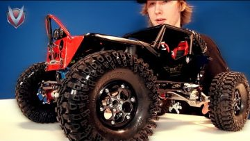 """RC ADVENTURES – VANQUiSH OUTFiTS MEDiC's TTC AXiAL WRAiTH – the """"BLACK WiDOW"""""""
