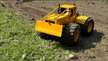 RC CAT 528 TRACTOR, BIG SKIDDER CAT 528 WITH RIPPERS