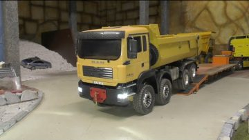 RC TIPPER CAT 777D, BIG RC TIPPER, RC COMPLICATION, RC CONSTRUCTION