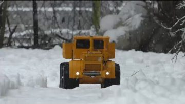RC ICE ROAD, CHANTIER RC, RC TIPPER 6X6