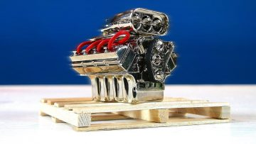 RC 冒险 – ALTERED BEAST 4X4 – Rebuild BV5 – Scale Engine, Winch