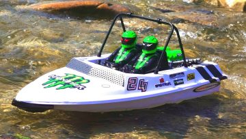 RC AVONTUREN – Tiny Jet Boats Racing – Pt 1 Van 2 – Convergence: Gathering of the Racers