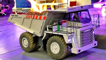 "RC MODEL TRUCKS AND CONSTRUCTION MACHINES SHOW ""SPOTLIGHT"" / RODWORKER ARENA / Intermodellbau 2017"