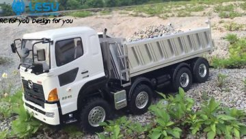 HINO 700 –  AWESOME 8×8 HINO 700 –  Amazing RC TIPPER from lesu racing