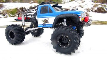 RC ADVENTURES – VERÄNDERTE BEAST 4×4 – BLiZZARD Trail in einem DEEP FREEZE