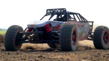 RC ADVENTURES – Losi DBXL 4×4 – Jump Testing with a Radio Controlled Buggy