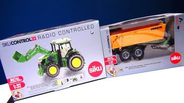 RC AVONTUREN – LiVE STREAM! (Now Over) UNBOXiNG SiKU CONTROL 32 Tractor Loader an Trailer Combo!