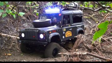 RC EVENTYR – AS SLOW AS POSSIBLE, as FAST AS NECESSARY : Driver Training – Defender D90 Rover