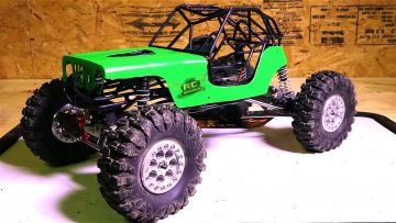 RC ADVENTURES – Black Sheep Customs Bouncer Tube Cage Upgrade for Axial Wraith 4×4
