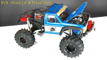 RC EVENTYR – Billige! Gorilla Tape Wheel Wells! ALTERED BEAST 4X4 – Rebuild BV8 –