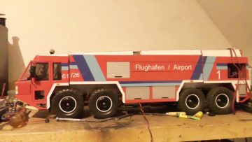 AIRPORT FIRE TRUCK, THE NEXT AWESOME RC MODEL, Airport fire truck