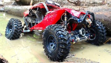 AVENTURAS RC – EPiC CAPO ACE 1 4X4 gets MUDDY! Great Trail Performance
