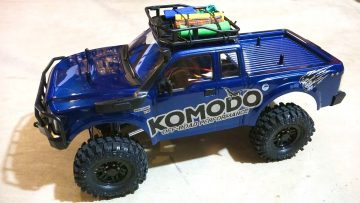 RC AVONTUREN – G Made GS01 Komodo 4×4 1/10 Electric Trail Truck Overview