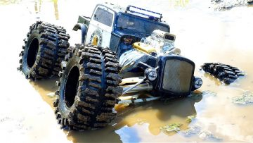 RC 冒险 – TRAXXAS SUMMiT RAT ROD gets MUDDY! 泥浆沼泽