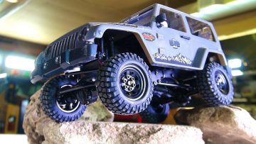 PRZYGODY RC – UNBOX & SURPRiSE MAURiCE w/an RC4WD 1:18 Gelande II RTR 4X4 BLACK ROCK JEEP