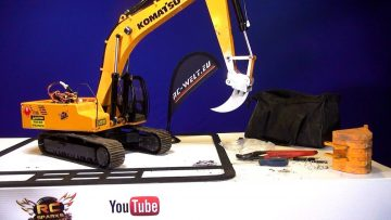 "AVENTURES RC – Lla ""FANG"" Earth Ripper & Quick Coupler – Digger 4200XL Excavator"